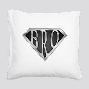 spr_bro_chrm Square Canvas Pillow