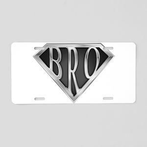 spr_bro_chrm Aluminum License Plate