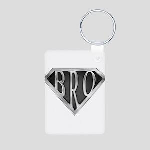spr_bro_chrm Aluminum Photo Keychain