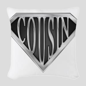 spr_cousin_chrm Woven Throw Pillow