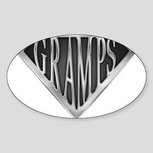spr_gramps2 Sticker (Oval)