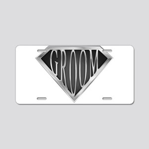 spr_groom_cx Aluminum License Plate