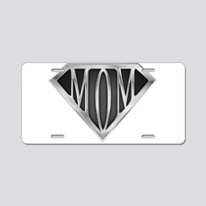 spr_mom_cx Aluminum License Plate