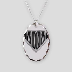 spr_mom_cx Necklace Oval Charm