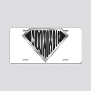 spr_mommie_cx Aluminum License Plate