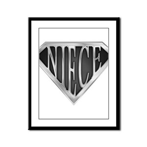 spr_niece_chrm Framed Panel Print