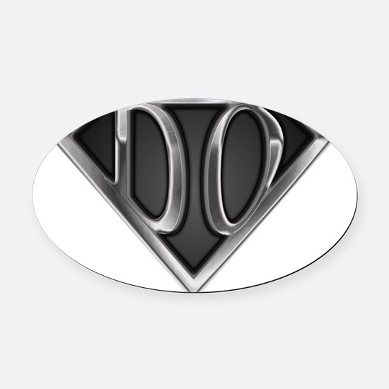 spr_do2_chrm.png Oval Car Magnet