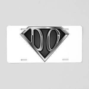 spr_do2_chrm Aluminum License Plate