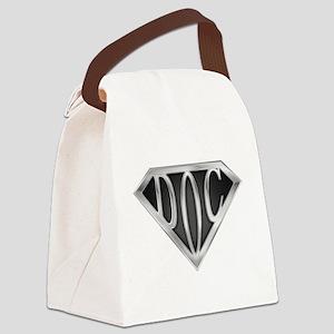 spr_doc2_chrm Canvas Lunch Bag