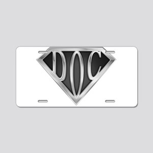 spr_doc2_chrm Aluminum License Plate