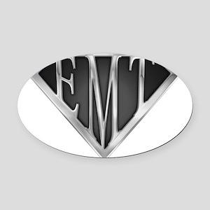 spr_emt_xc Oval Car Magnet