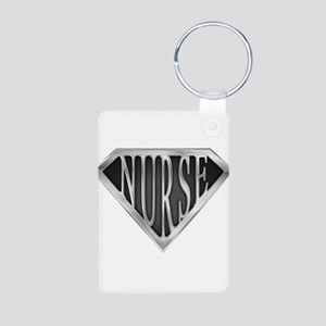 spr_nurse_xc Aluminum Photo Keychain