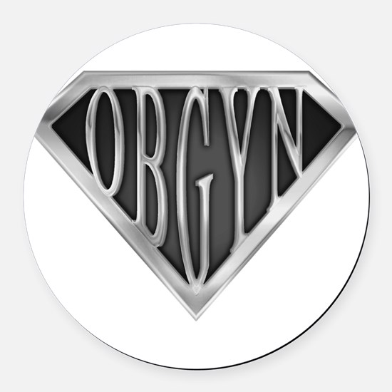 spr_obgyn_c.png Round Car Magnet