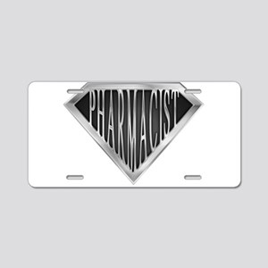 spr_pharmicist_chrm Aluminum License Plate