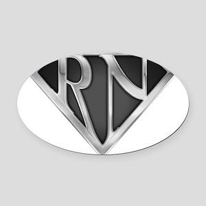 spr_rn3_chrm Oval Car Magnet
