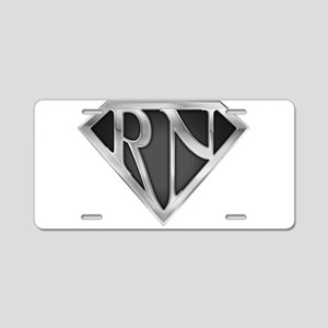 spr_rn3_chrm Aluminum License Plate