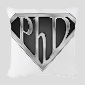 spr_phd2_chrm Woven Throw Pillow