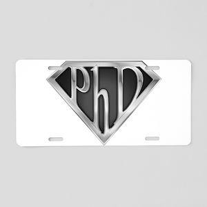 spr_phd2_chrm Aluminum License Plate