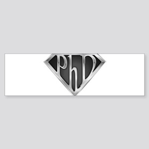 spr_phd2_chrm Sticker (Bumper)