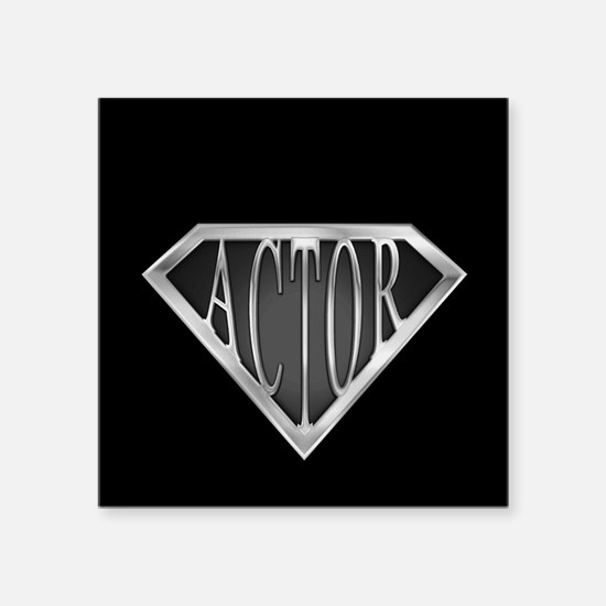 """spr_actor_cx.png Square Sticker 3"""" x 3"""""""