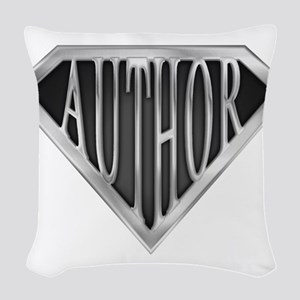spr_author_chrm Woven Throw Pillow