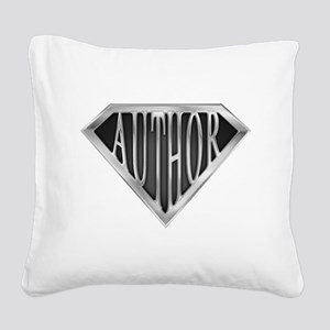 spr_author_chrm Square Canvas Pillow