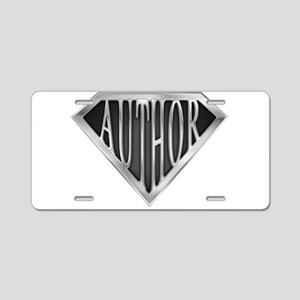 spr_author_chrm Aluminum License Plate