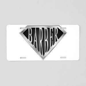 spr_barber_chrm Aluminum License Plate
