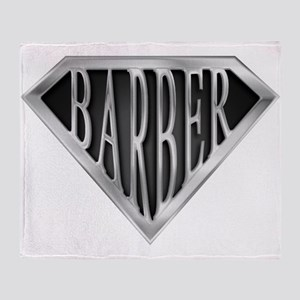spr_barber_chrm Throw Blanket