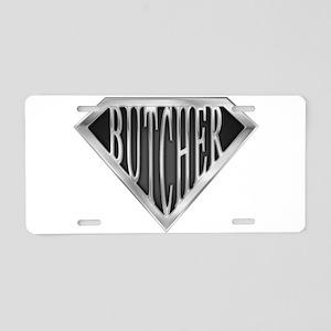 spr_butcher_chrm Aluminum License Plate