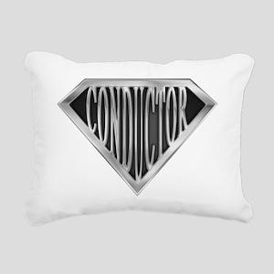 spr_conductor_chrm Rectangular Canvas Pillow