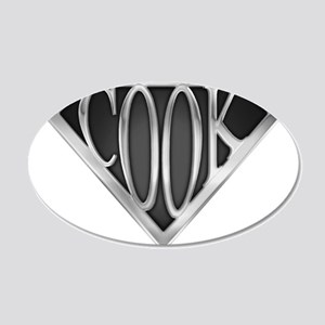 spr_cook_xc 20x12 Oval Wall Decal