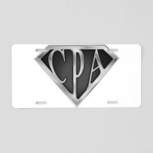 spr_cpa2_c Aluminum License Plate