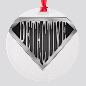 spr_detective_chrm Round Ornament