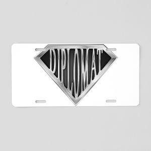 spr_diplomat_chrm Aluminum License Plate