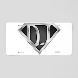 spr_dj_chrm Aluminum License Plate