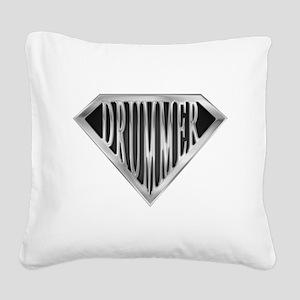 spr_drummer_chrm Square Canvas Pillow