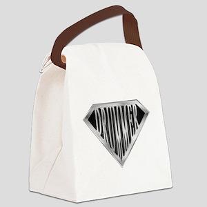 spr_drummer_chrm Canvas Lunch Bag