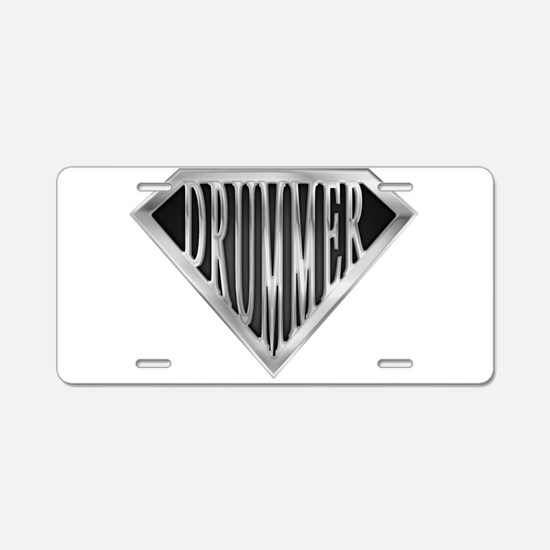 spr_drummer_chrm.png Aluminum License Plate