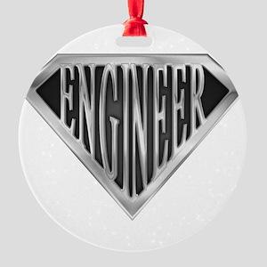 spr_engineer_chrm Round Ornament