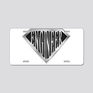 spr_engineer_chrm Aluminum License Plate