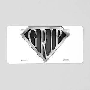 spr_grip_chrm Aluminum License Plate
