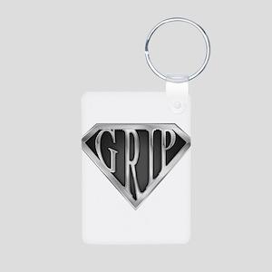spr_grip_chrm Aluminum Photo Keychain