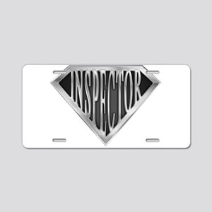 spr_inspector_chrm Aluminum License Plate