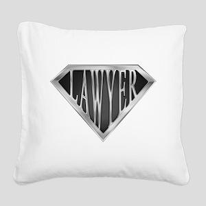 spr_LAWYER_cX Square Canvas Pillow