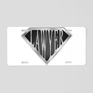 spr_LAWYER_cX Aluminum License Plate