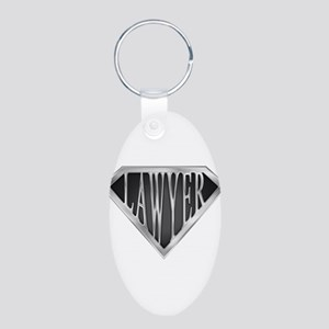 spr_LAWYER_cX Aluminum Oval Keychain