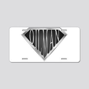 spr__driller_cx Aluminum License Plate