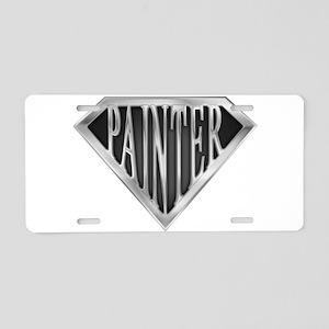spr_painter_chrm Aluminum License Plate