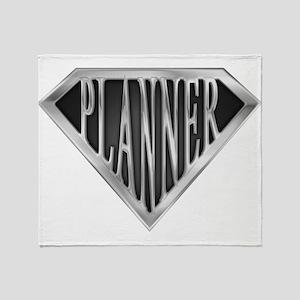 spr_planner_chrm Throw Blanket